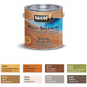 Saicos Thermoholz Holz Speziial Ol